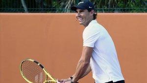Rafael Nadal inauguró su primer Centro de Entrenamiento fuera de España