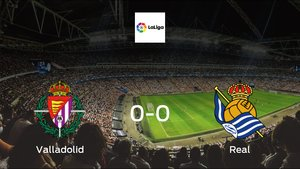 Real Valladolid and Real Sociedad ended the game with a 0-0 draw at José Zorrilla