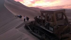 Rescate del camión de Juvanteny en las dunas