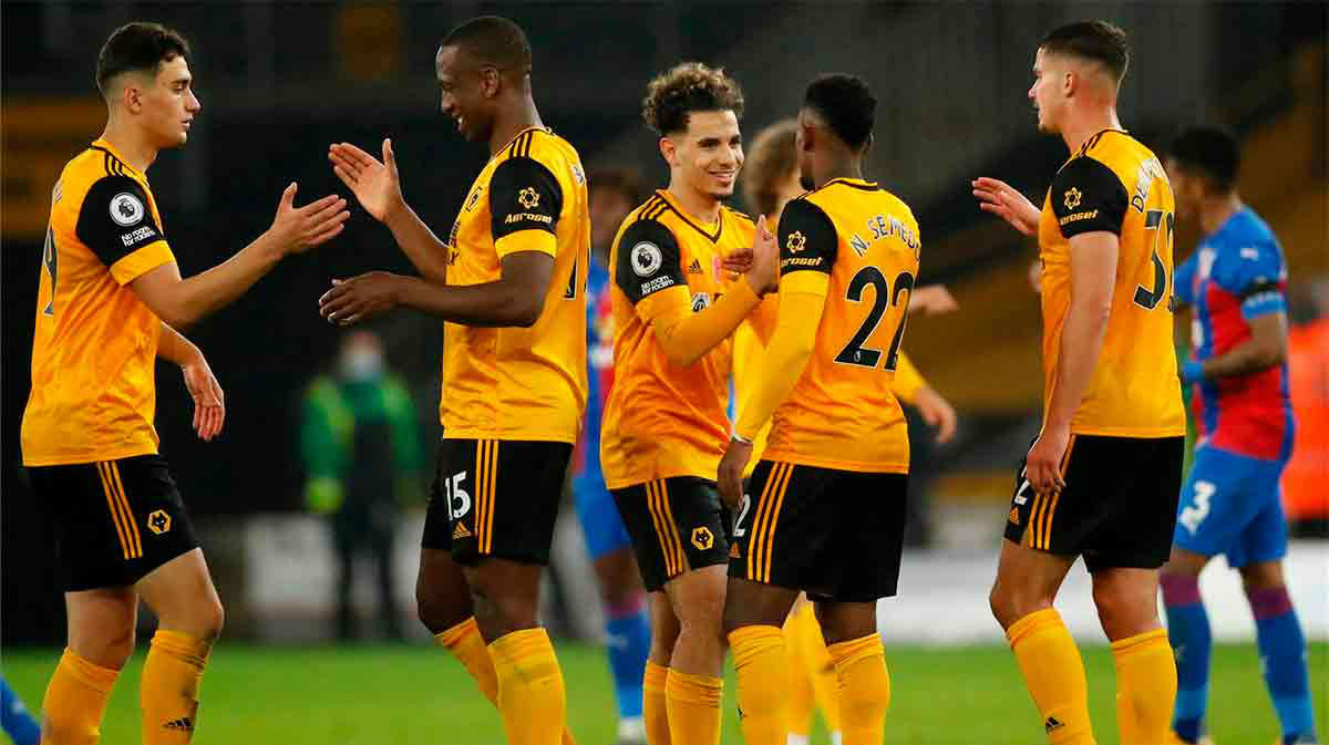 El resumen de la victoria del Wolverhampton sobre el Crystal Palace