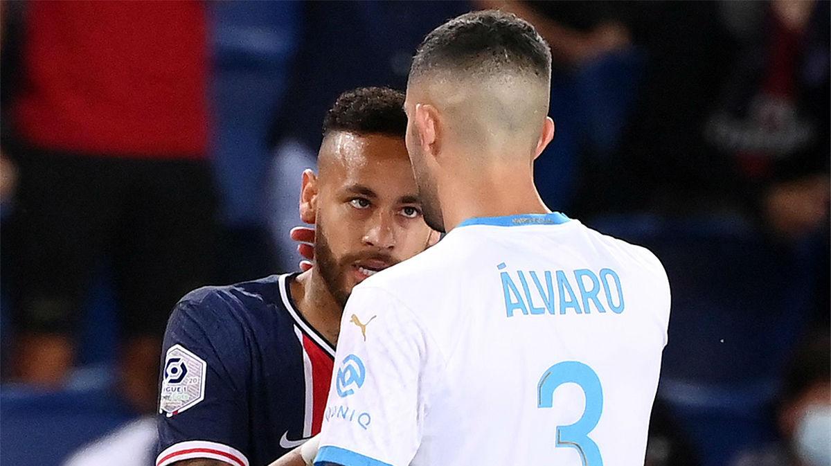 Rongier defiende a Álvaro y ataca a Neymar