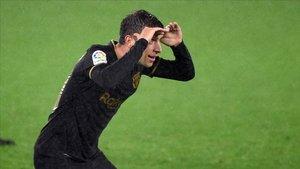 Sergi Roberto marcó el tercer gol del Barça