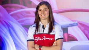 Tatiana Calderón también es la piloto de pruebas de Alfa Romeo F1