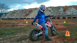Todo listo para la 1ª Copa Catalana de Motocross-E Infantil