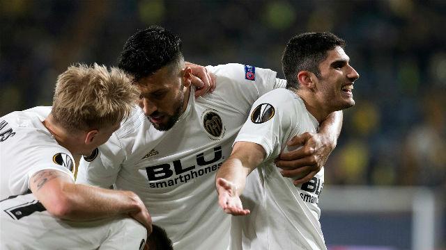 El Valencia hunde al Submarino amarillo