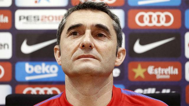 Valverde habla sobre el estado de forma de Griezmann