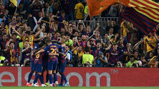 El video de la remontada heroica del Barça