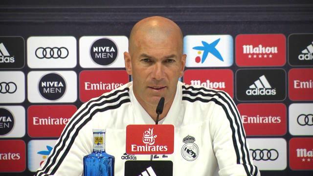 Zidane: La eliminación del Barça no mejora nuestra temporada