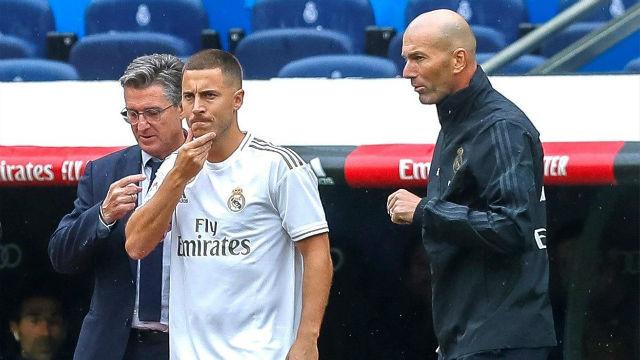 Zidane: Hazard está listo