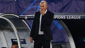 Zidane, resignado tras el varapalo en Valdebebas