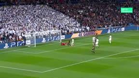Ziyech abrió el marcador en el Santiago Bernabéu