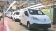 Línea de producción del Nissan e-NV 200.