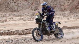 El francés Xavier De Soutrait (Yamaha)