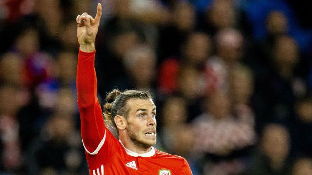 """Bale bromea con el """"Gales, golf, Madrid"""""""