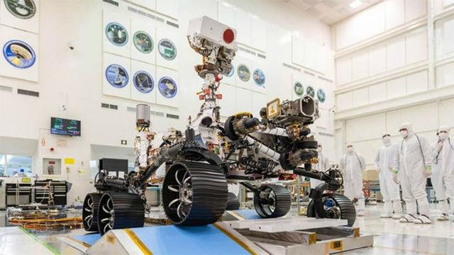 El rover Perseverance ya se encuentra listo para su viaje a Marte