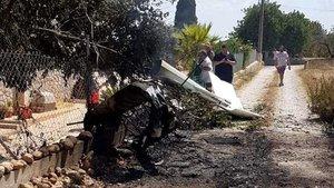 Accidente mortal en Inca: siete muertos por el choque de dos aeronaves