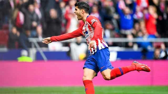 El árbitro anuló el tanto de Morata