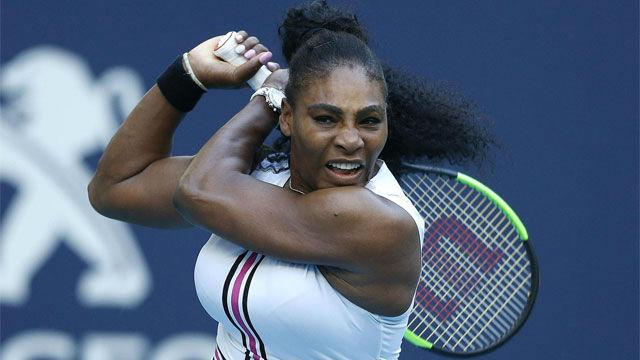 Así conquisto Serena Williams el pase a tercera ronda