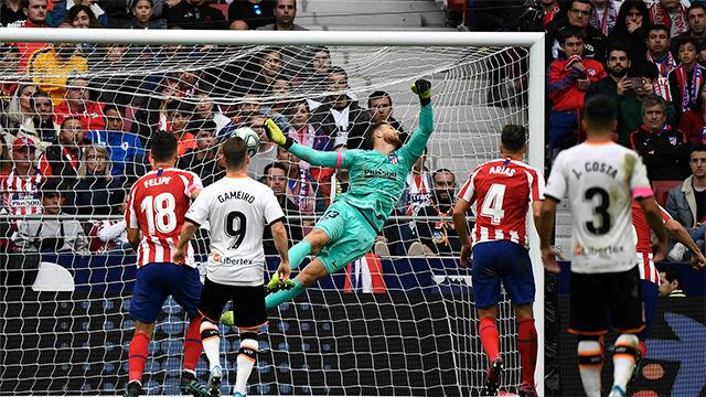 Así fue el golazo de falta de Parejo para dar un punto al Valencia
