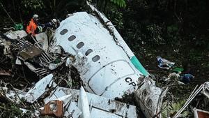 El avión del Chapecoense se estrelló en Colombia