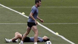 Bale y James estaban lesionados en el Real Madrid