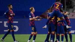 El Barça cumplió la tradición y ya está en cuartos