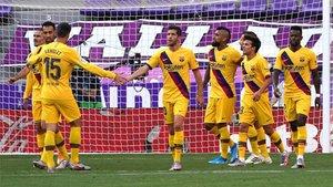 El Barça necesita mejorar fuera de casa