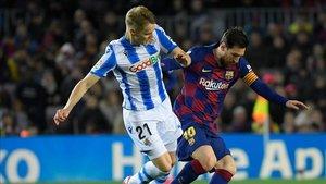 El Barça pisó por última vez el Camp Nou en el partido ante la Real Sociedad