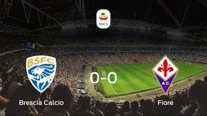 El Brescia Calcioy la Fiorentinase reparten los puntos en el Mario Rigamonti (0-0)