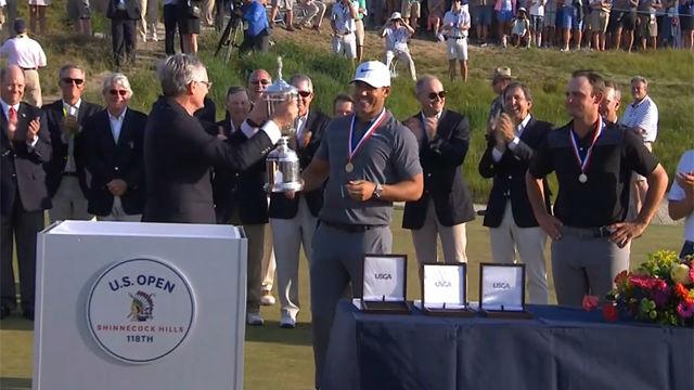 Brooks Koepka revalida la victoria en el US Open