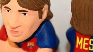 El caganer de Leo Messi sigue siendo uno de los más vendidos
