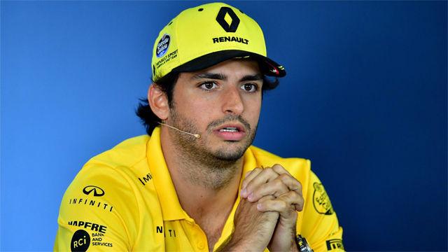 Carlos Sainz correrá en McLaren