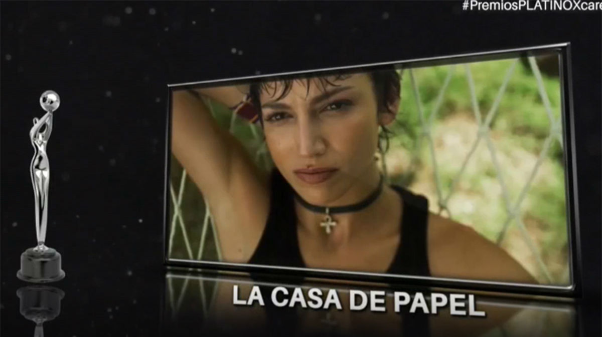 La casa de papel consigue el premio Platino a mejor miniserie o teleserie