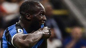 Conte recupera a Romelu Lukaku