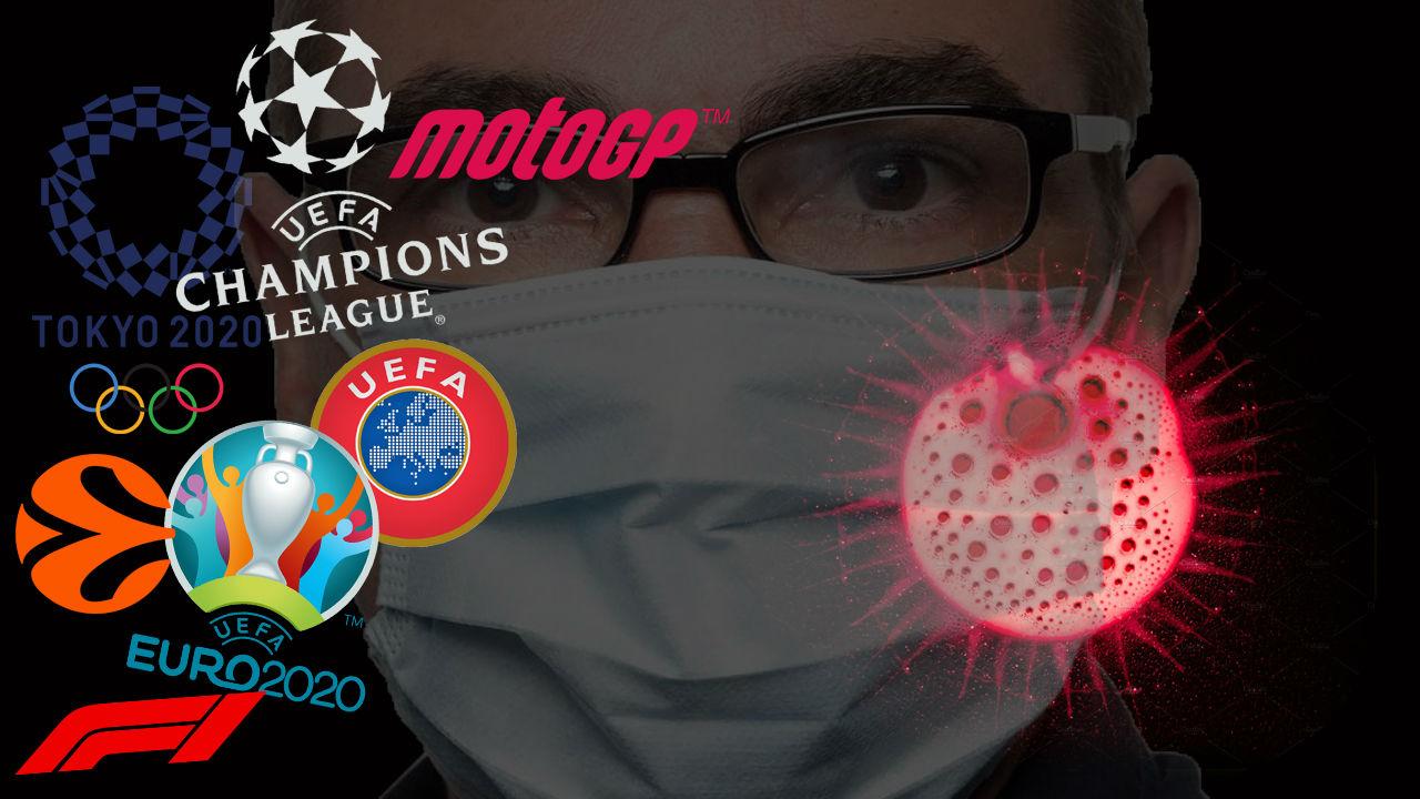 El coronavirus amenaza al mundo del deporte