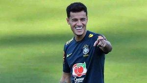 Coutinho juega la final de la Copa América