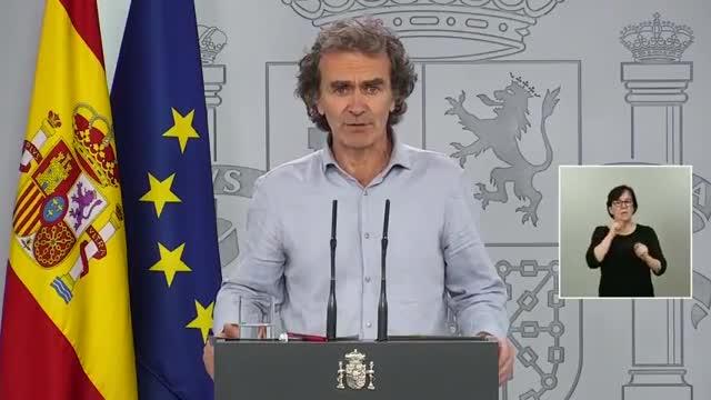 España registra 56 nuevos fallecidos y 446 contagios por coronavirus en las últimas 24 horas