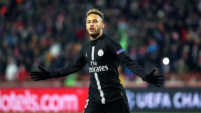 La espléndida jugada de Neymar ante el Estrella Roja que terminó con gol