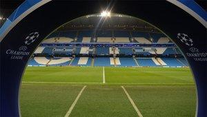 El Etihad Stadium no verá partidos de Champions League durante las próximas dos temporadas