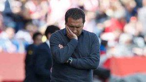 Eusebio sabe lo que se juega el Girona ante el Valladolid