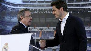 Florentino y Casillas habrían llegado a un acuerdo
