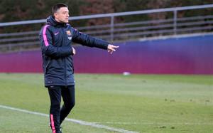 García Pimienta será el segundo entrenador del Barça B