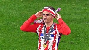 Griezmann fue el héroe de la final de la Europa League