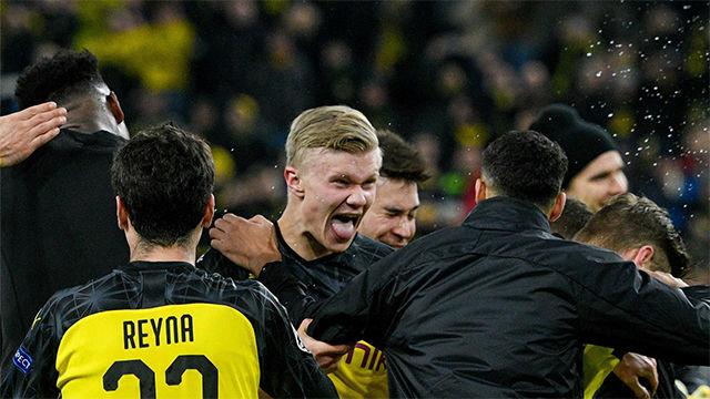 Haaland: Jugar con Sancho, Reus o Hazard lo hace más fácil
