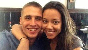 Hagen Mills junto a su novia a la que intento asesinar