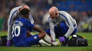 Hudson-Ochoi cayó lesionado ante el Burnley