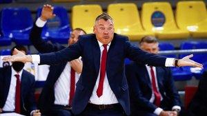 Jasikevicius espera ver la mejor versión de su equipo en Vitoria