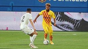 Konrad logró debutar con el primer equipo del FC Barcelona