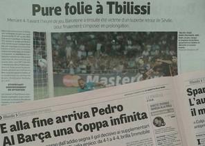 Las ediciones de este miércoles de LÉquipe y de La Gazzetta dello Sport