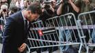 Leo Messi a la entrada de la Audiencia de Barcelona el pasado mes de junio